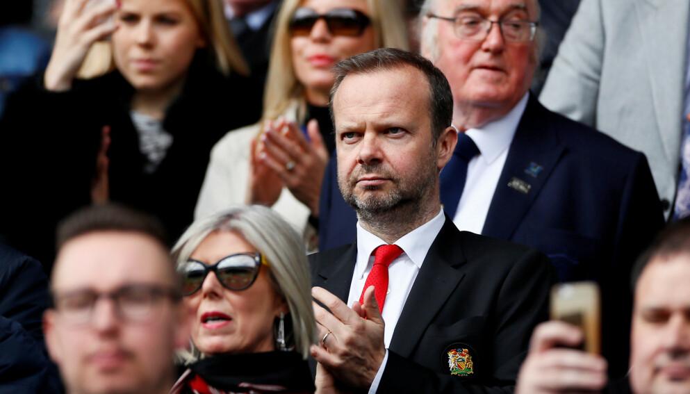 HÅNES: Ikke alle kjøper den påståtte forklaringen til hvorfor Ed Woodward trakk seg i United tirsdag. Foto: Reuters/Jason Cairnduff
