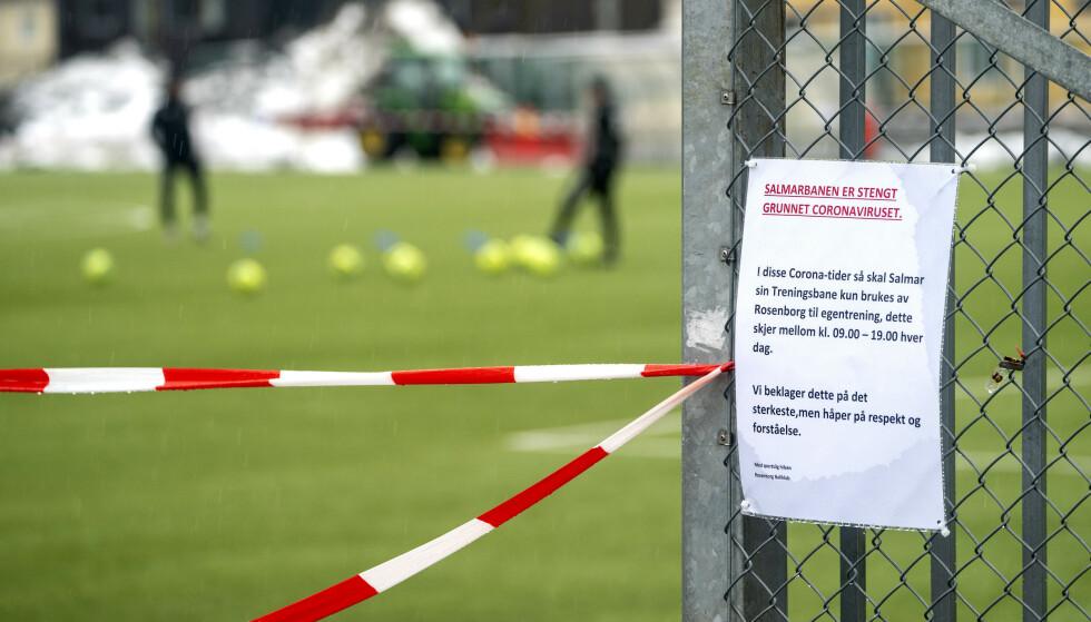 FRAFALL: Breddefotballen lider etter nesten halvannet år uten verken trening eller kamper. Foto: NTB