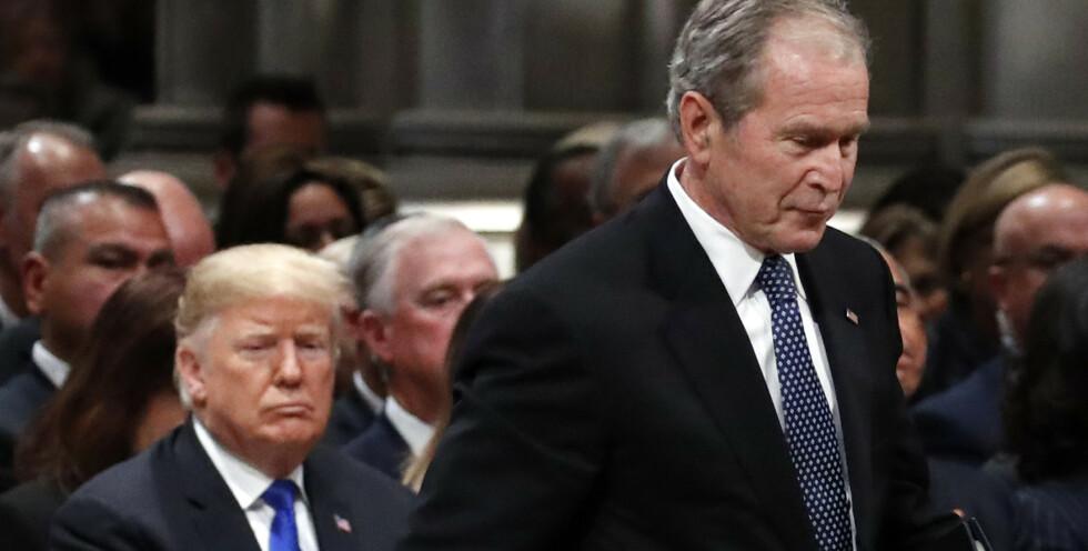 Droppet Trump - stemte utradisjonelt