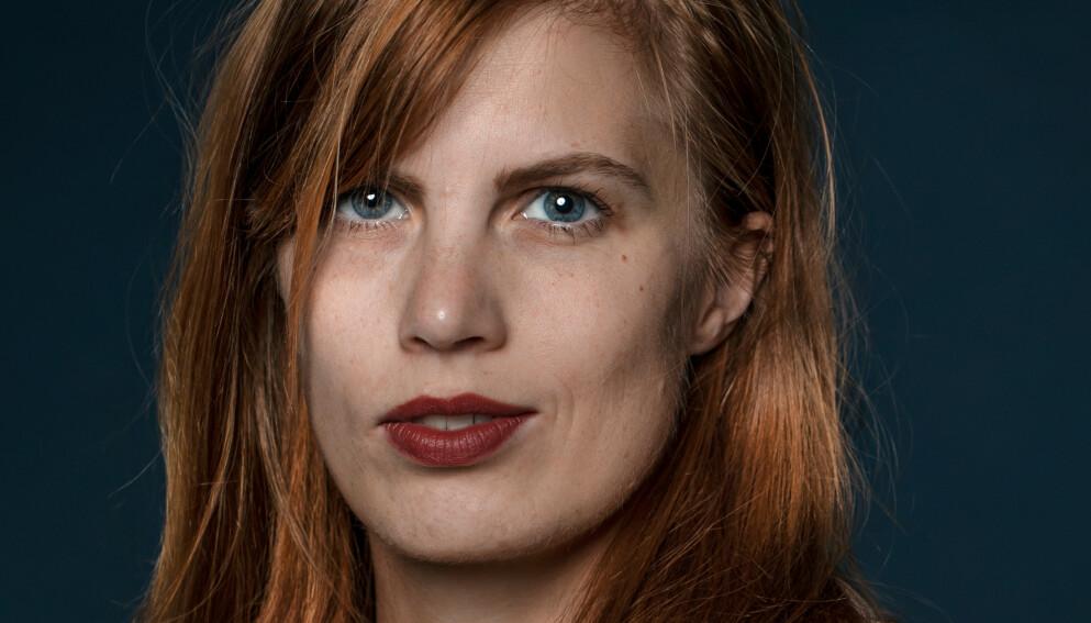 LYDIA SANDGREN: Psykologen som innkasserte den høythengende svenske Augustprisen på første forsøk. Foto: Strawberry Publishing / Emelie Asplund