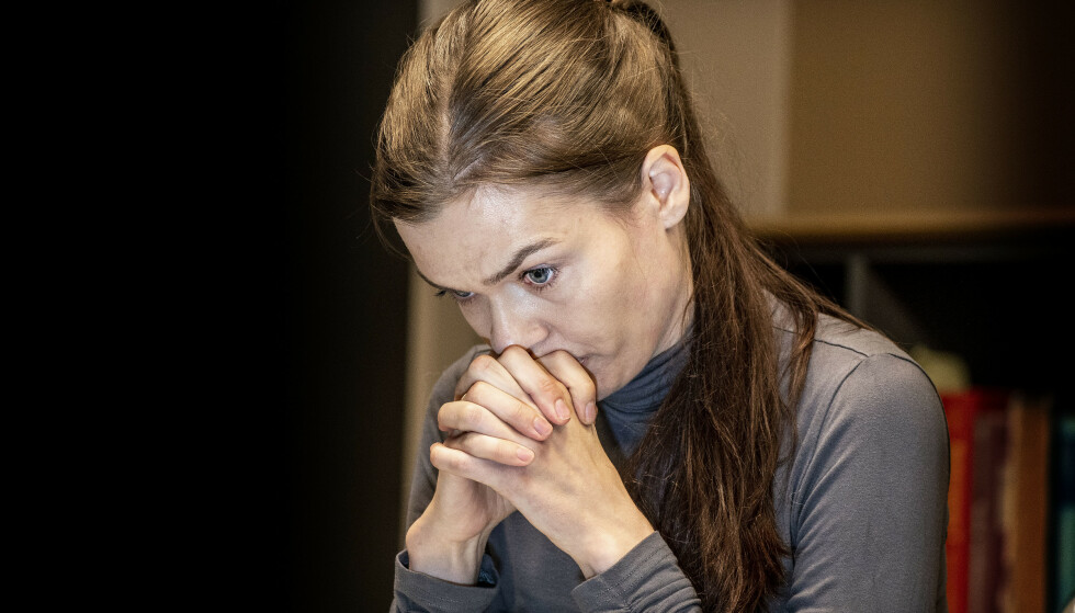 SAVN: Kseniia Dalen savner ektemannen hver dag. Foto: Hans Arne Vedlog / Dagbladet