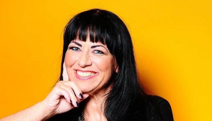 REAGERER: Leder i Landsforeningen for overvektige, Mari-Mette Graff. Foto: Privat