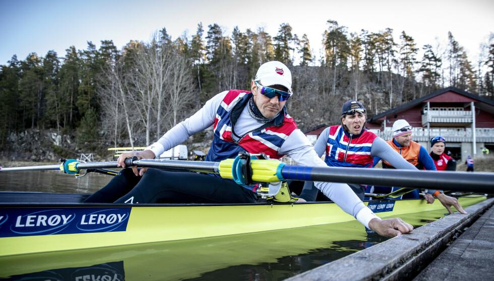 Permesso richiesto: i vogatori hanno chiesto il permesso di allenarsi ad Årungen al loro ritorno a casa dalle gare di Coppa del Mondo.  Foto: Bjørn Langsem / Dagbladet