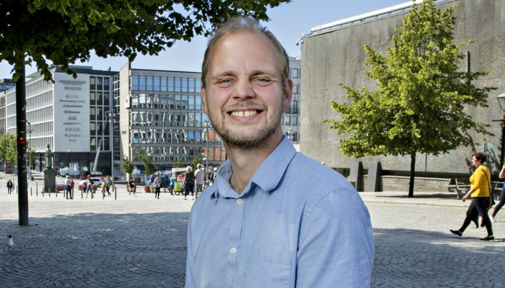 VENTER BARN: Mímir Kristjansson og samboeren blir tobarnsforeldre. Foto: Kristian Ridder-Nielsen/Dagbladet