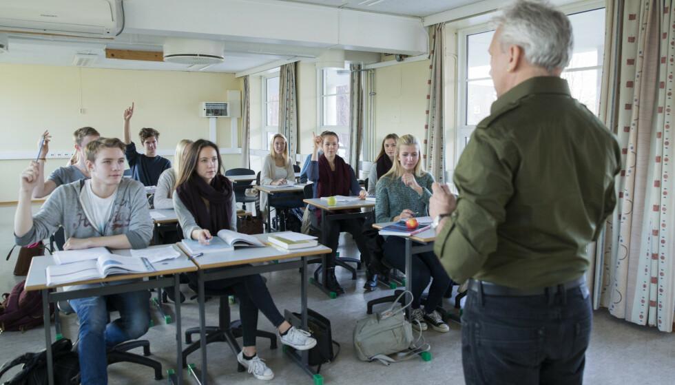 UTFORDRENDE: Flere studenter mener at den manglende kontakten med medstudenter er utfordrende. Foto: Berit Roald / NTB