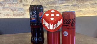 Smakstest: Nye Coca-Cola imponerer