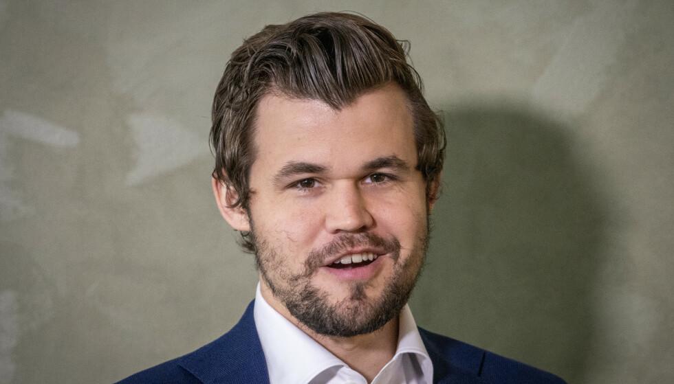KAN SMILE: Magnus Carlsen. Foto: NTB