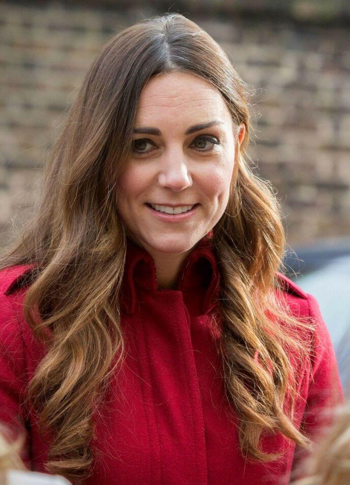 ETTERVEKST: Da hertuginne Kate dukket opp med grå ettervekst, var det flere som reagerte. Foto: London News Pictures / REX / NTB