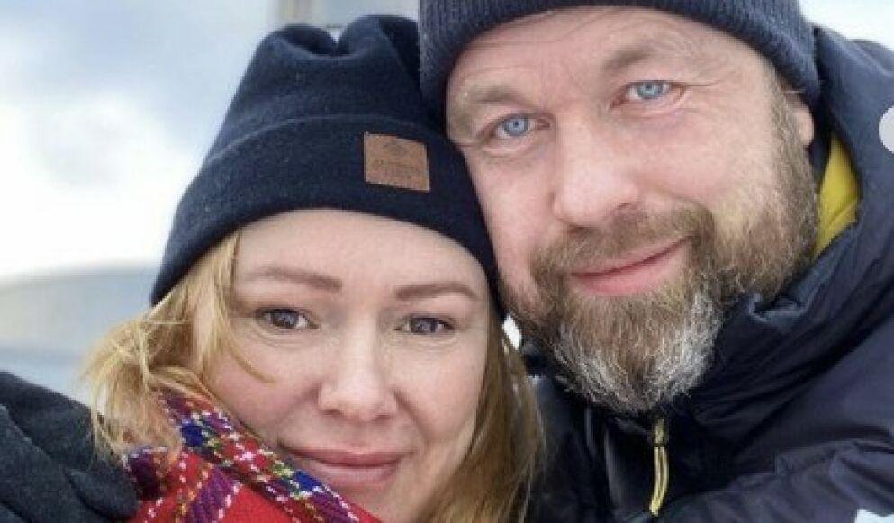FLYTTER SAMMEN: Komiker Trine Lise Olsen selger leiligheten i Oslo og flytter til kjæresten Bjørn Terje Pay i Asker. Foto: Privat