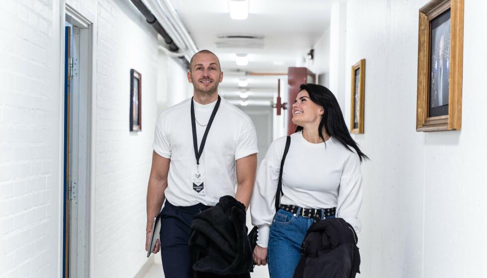 BODDE SAMMEN: Brandstorp og manager Christoffer Gunnestad bodde sammen i Oslo. Det tok brått slutt da førstenevnte fikk seg kjæreste. Foto: Privat