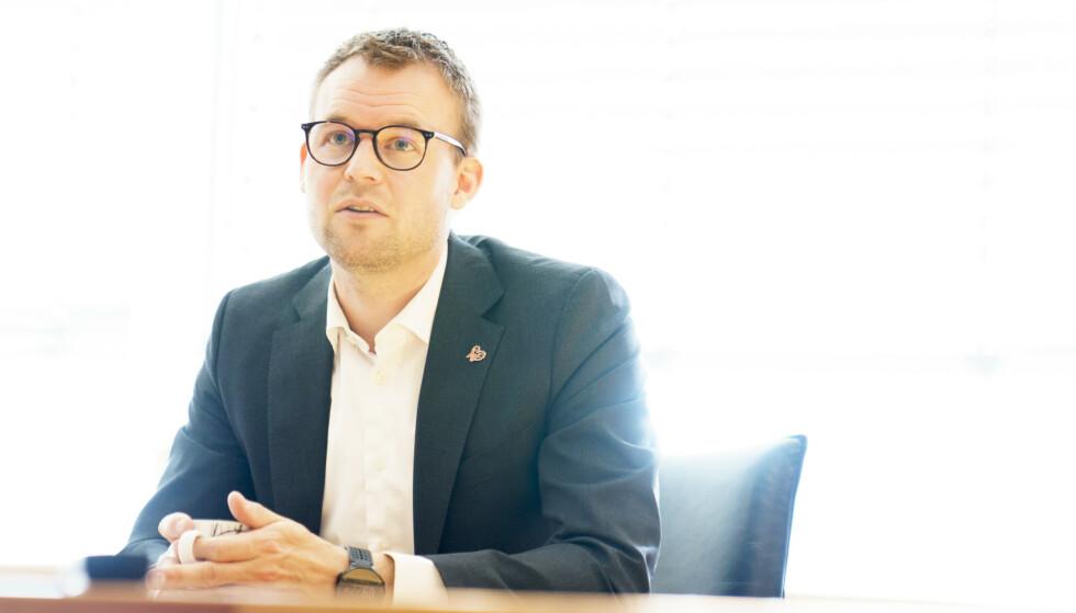 UTDELIG: Partileder Kjell Ingolf Ropstad vil ha en ny abortlov i Norge, men kan ikke si hva som skal stå i den. Foto: Torstein Bøe / NTB