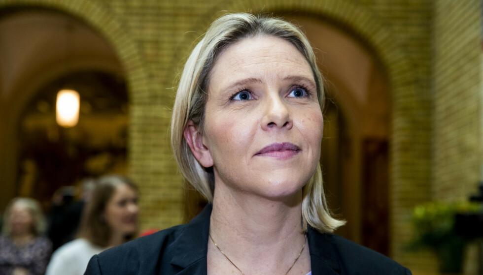 ØNSKER ENDRING: Sylvi Listhaug ønsker å kjempe for å få ordningen «right to try» til Norge. Foto: Terje Pedersen / NTB
