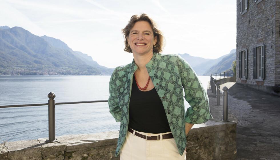 MARIANA MAZZUCATO: Den italienske professoren har blitt kalt verdens viktigste økonom. Her er hun i Bellagio i Italia i 2019. Foto: NTB/ Isabella de Maddalena/ The New York Times