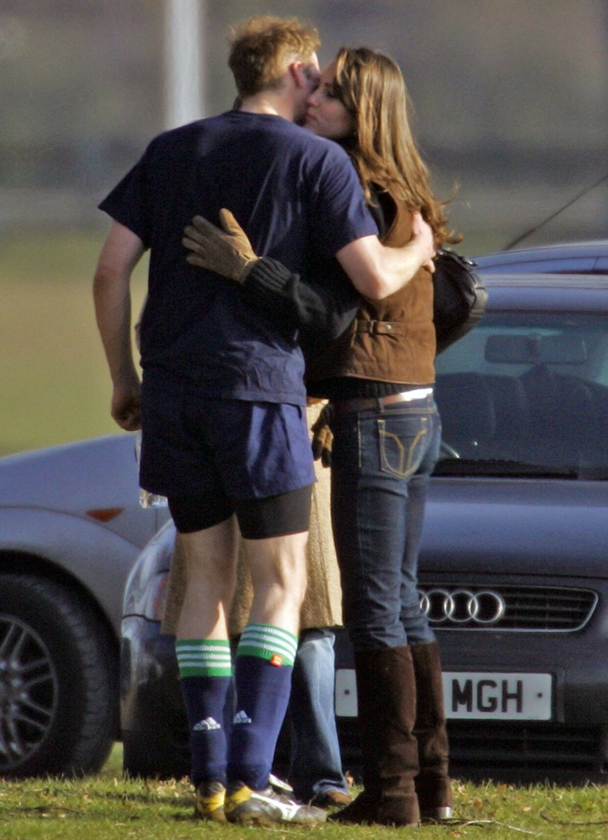 STERKE FØLELSER: William og Kate gjorde lite for å skjule sine følelser for hverandre. Her i 2006. Foto: REX/ NTB