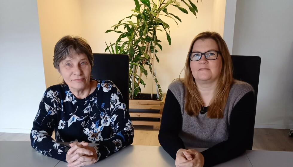 SJELEVENNER: Gretha Nilssen (t.v.) og Sandra Nilssen (t.h.) kaller seg for sjelevenner etter ulykken.