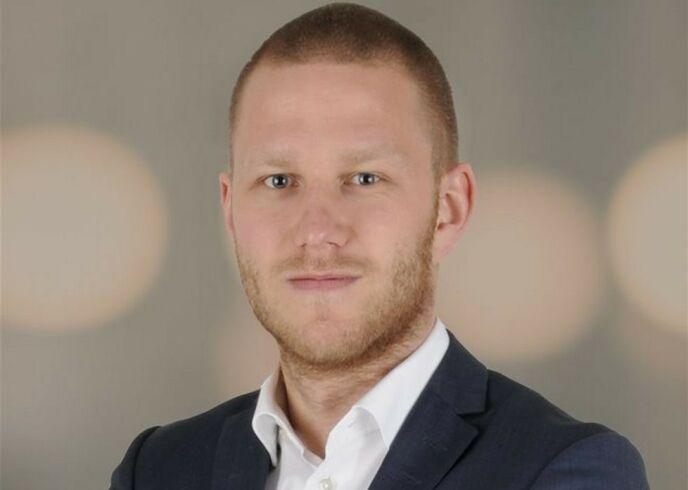 SOLGTE BOLIGEN: Kent Nergård i EiendomsMegler 1 solgte huset sammen med Markus Tangvik.