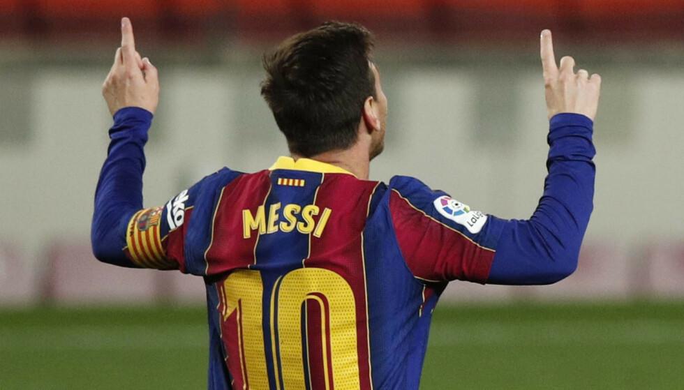 Nieuwe lente: Lionel Messi was briljant voor Barcelona in LaLiga en hij is de topscorer van de competitie.  Foto: NTB / Scanpix