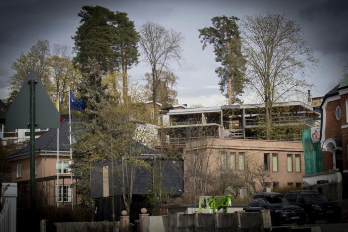 BEKYMRINGER: Flere av naboene har gitt uttrykk for kritikkverdige forhold rundt byggeprosessen. Foto: Bjørn Langsem / Dagbladet