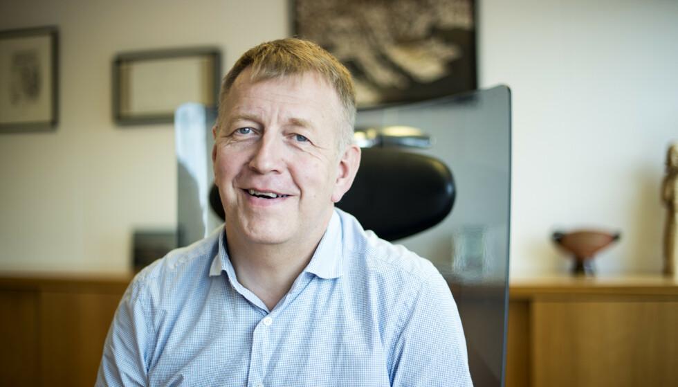 TILTRO: Terje Wester i Fatland har tiltro til at tyske produsenter håndterer salmonellasmitte. Foto: Fatland