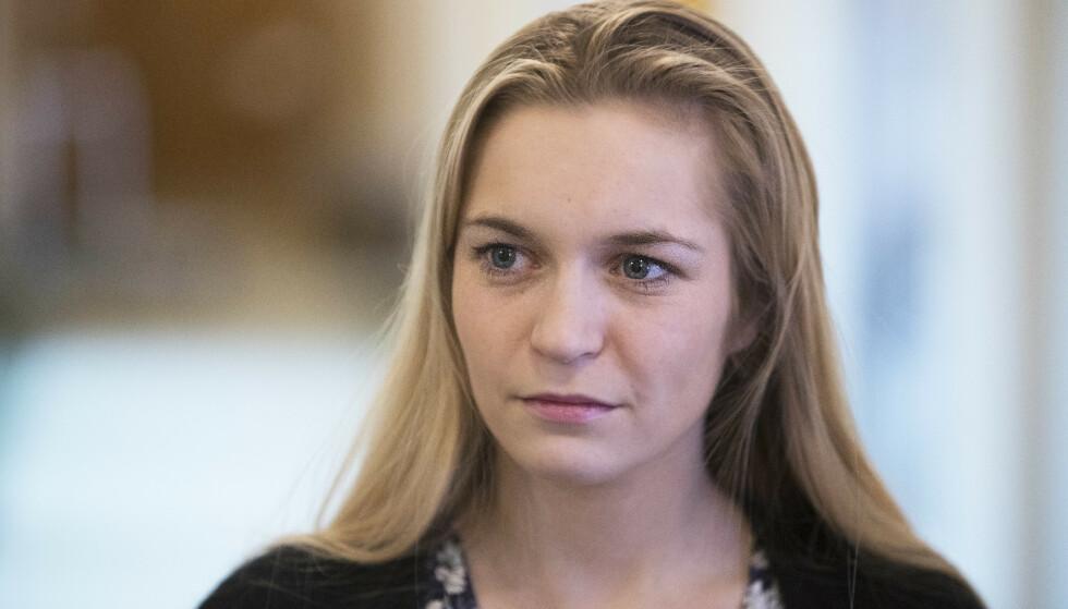 MISTILLIT: Skolepolitisk talsperson i Høyren Mathilde Tybring-Gjedde mener SVs vedtak er et uttrykk for mistillit mot lærerne. Foto: Ole Berg-Rusten / NTB