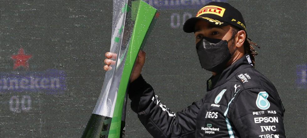 Hamilton vant Portugals Grand Prix