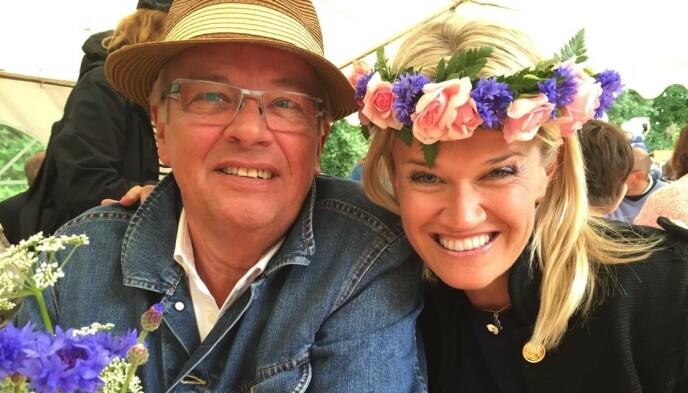 FAR OG DATTER: Staffan Malmgren og datteren Therése Modig. Foto: Privat