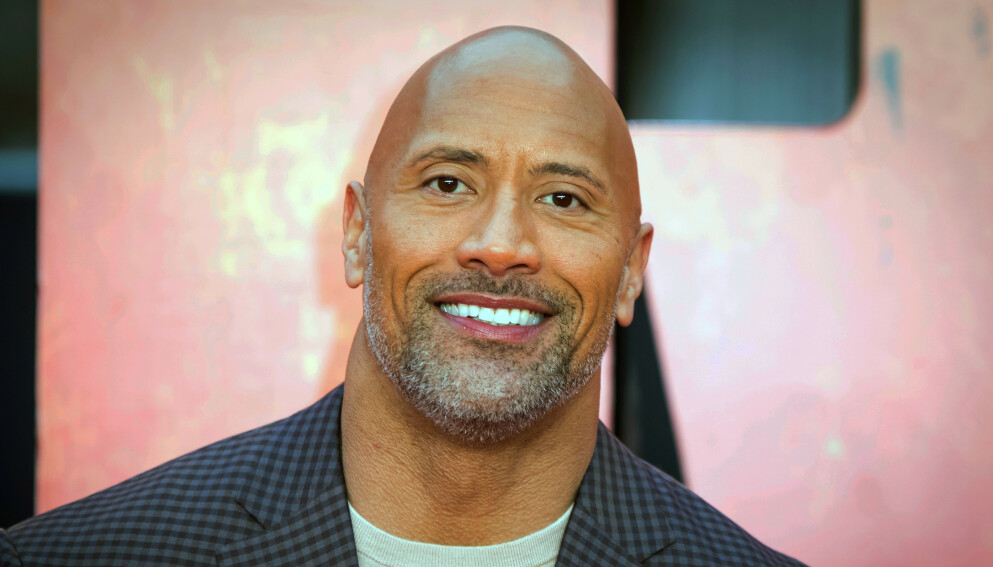 FORVIRRET: Da skuespiller og tidligere wrestler Dawyne «The Rock» Johnson var sju år gammel, trodde klassekameratene at han var ei jente. Foto: Vianney La Caer / Invision / AP / NTB
