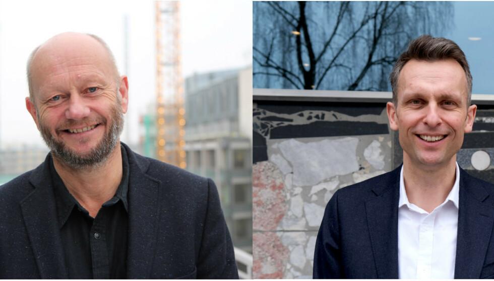TROVERDIGHET?: Man kan spørre seg hvem som har størst troverdighet til å snakke på vegne av industrien i Norge. Norsk Industri og Energi Norge som representerer over 3000 bedrifter, eller Moxnes med sin anti-EØS-agenda, spør Stein Lier-Hansen og Knut Kroepelien.