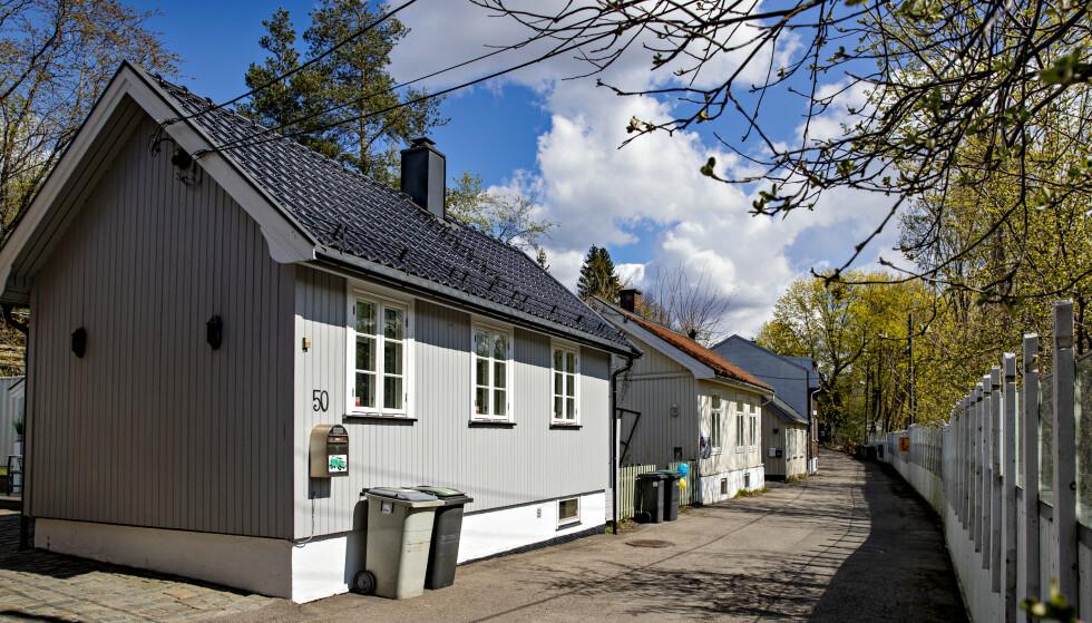 SKAL RIVES: Eneboligene på «Hylla» er blant hovedstaden eldst bebodde boliger. Foto: Bjørn Langsem / Dagbladet