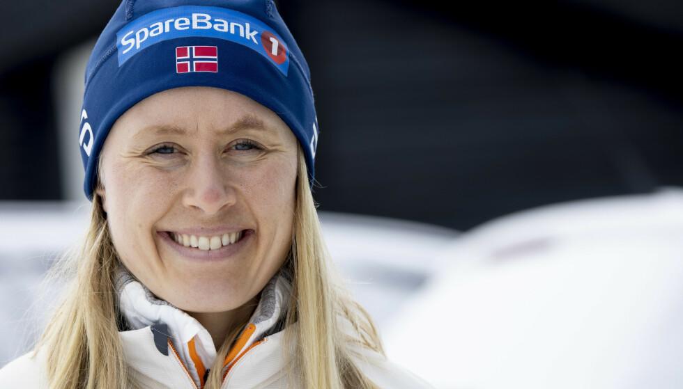 FERDIG: Ragnhild Haga er ferdig på landslaget, men sier selv på sin Instagram at motivasjonen mot OL fortsatt er stor. Foto: Geir Olsen / NTB