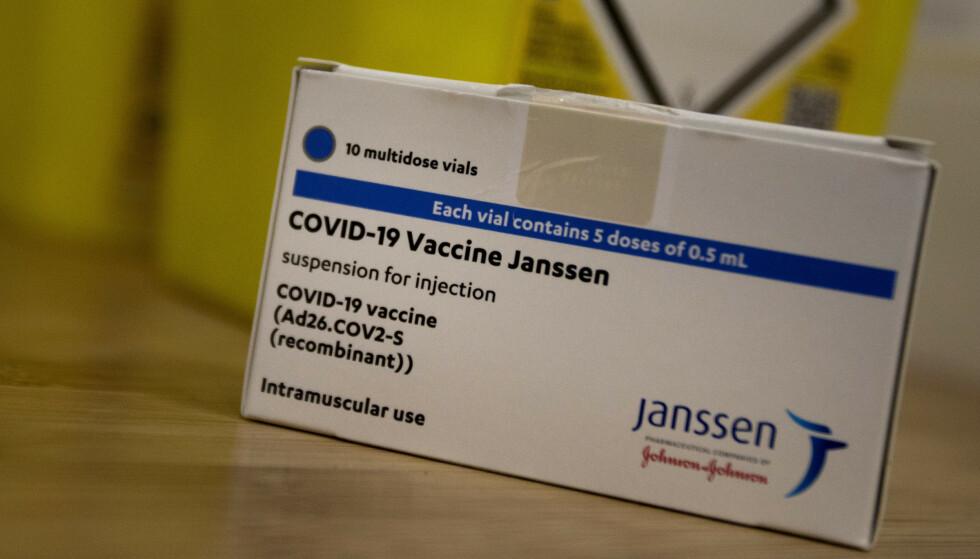 BLODPROPP: Janssen-vaksinen har blitt knyttet til sjeldne varianter av blodpropp. Foto: Virginia Mayo / AP / NTB