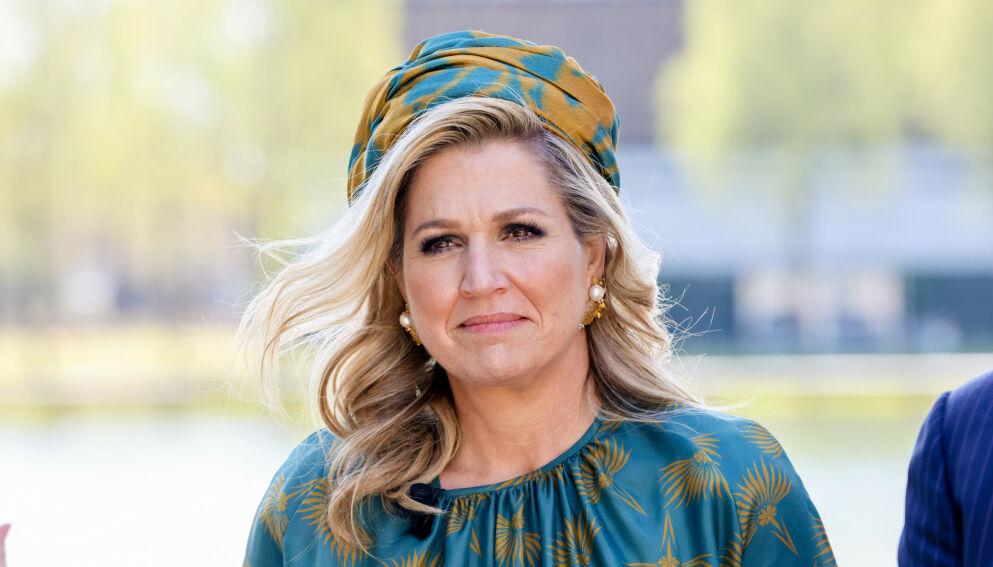 SØRGER: Dronning Maxima av Nederland er i sorg etter at hun har mistet et familiemedlem. Foto: Shutterstock / NTB