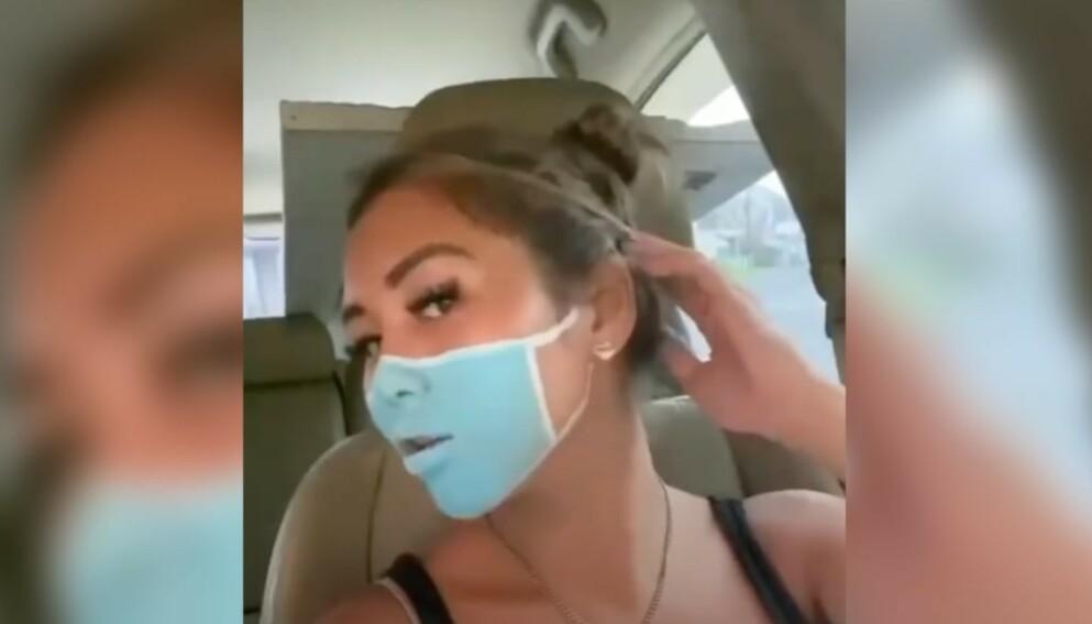 STUNT: To Youtube-profiler utførte et munnbind-stunt som har ført til at de nå har blitt deportert fra Bali. Foto: Skjermdump fra Youtube