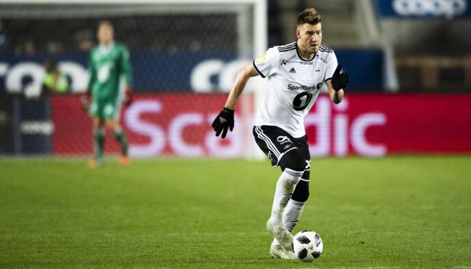 LERKENDAL-PROFIL: Nicklas Bendtner spilte i Rosenborg fra 2017 til 2019. Foto: Ole Martin Wold / NTB