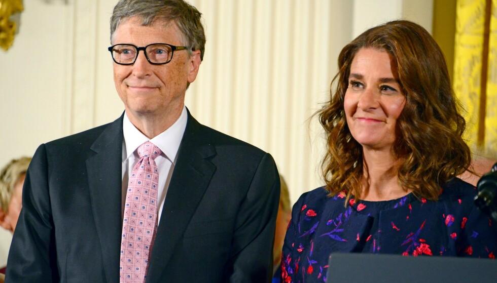 SKILLES: Bill og Melinda Gates har bestemt seg for å gå hver til sitt etter et 27 år langt ekteskap. Foto: Shutterstock