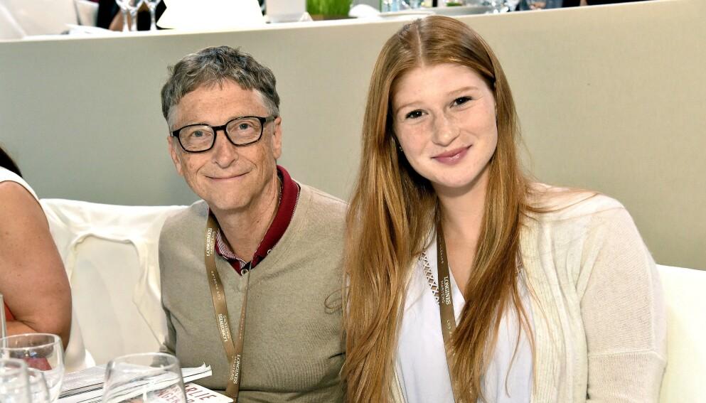 PREGET: Bill og Melinda Gates' datter Jennifer Katharine ber innstendig sine følgere om ro til å bearbeide det faktum at foreldrene skal skilles. Foto: Rob Latour / Rex