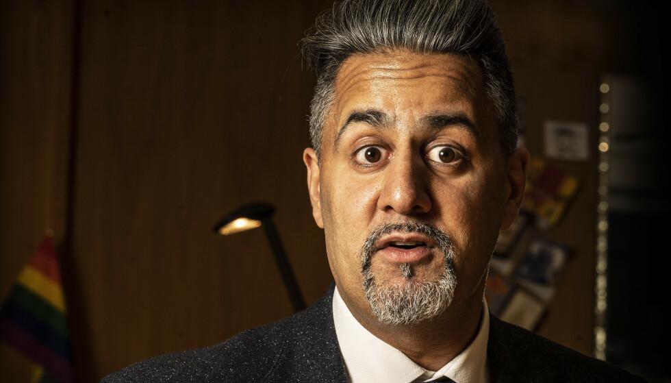 HAR IKKE SVAR: Kulturminister Abid Q. Raja kan ikke si noe om regjeringens retningslinjer for festivalsommeren. Foto: Hans Arne Vedlog / Dagbladet