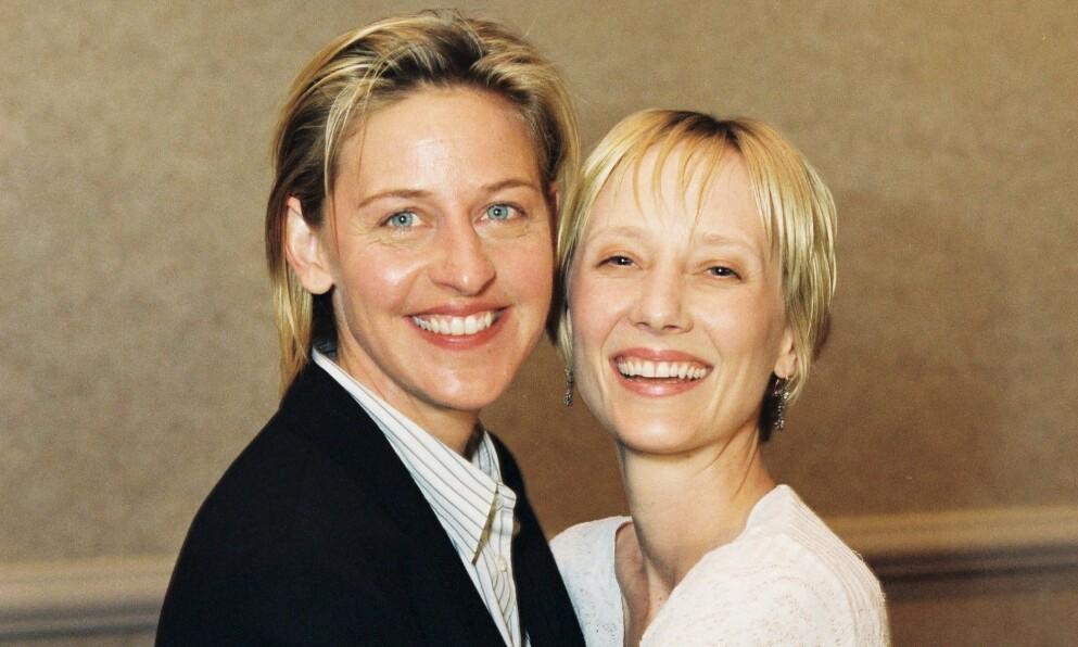 VAR KJÆRESTER: Ellen DeGeneres og Anne Heche var et par i tre år, fra 1997 til år 2000. Foto: Alex Berliner/BEI/REX