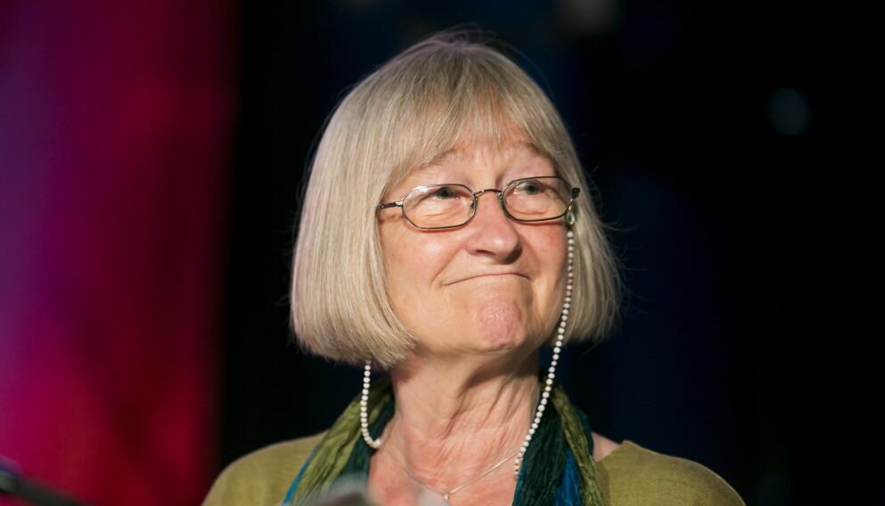 GIKK BORT: Tidligere programleder Else Michelet har gått bort etter lengre tids sykdom. Her er hun avbildet under feiringen av Reiseradioen 50 år i NRK i 2013. Foto: Heiko Junge / NTB