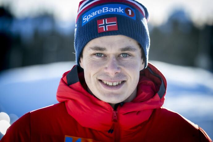 IMPONERTE: Harald Østberg Amundsen er tatt ut på allroundlaget. Foto: Bjørn Langsem / Dagbladet