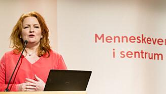 TIL SENTRUM: Tidligere nestleder og stortingsrepresentant for KrF Dagrun Eriksen forlot KrF tilfordel for Sentrum. Foto: Ned Alley / NTB