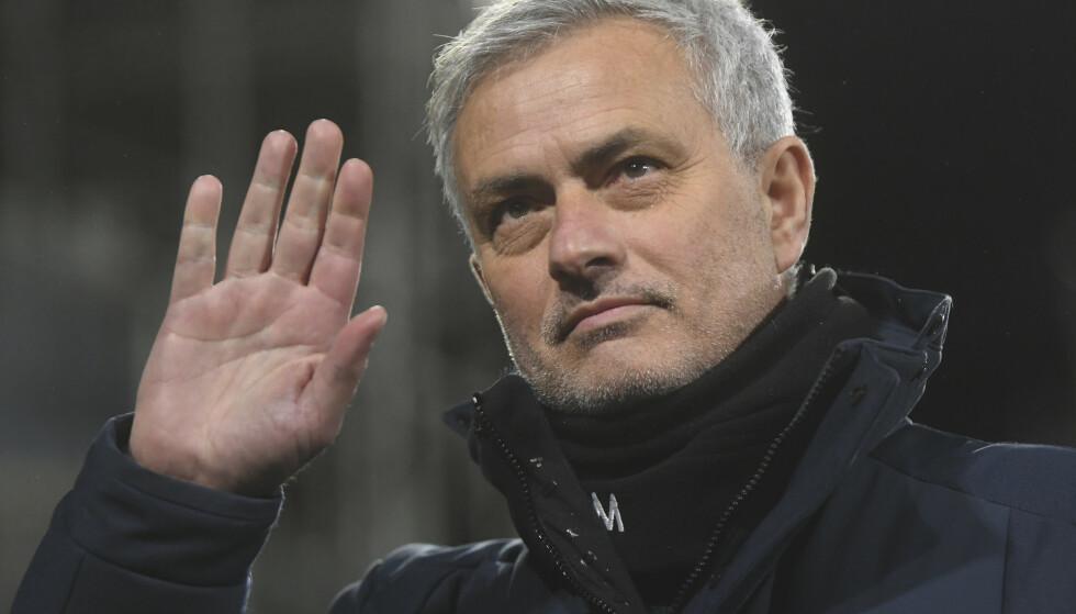 NY JOBB: José Mourinho fikk sparken i Tottenham for to uker siden, nå blir han ny trener for Roma. Foto: NTB