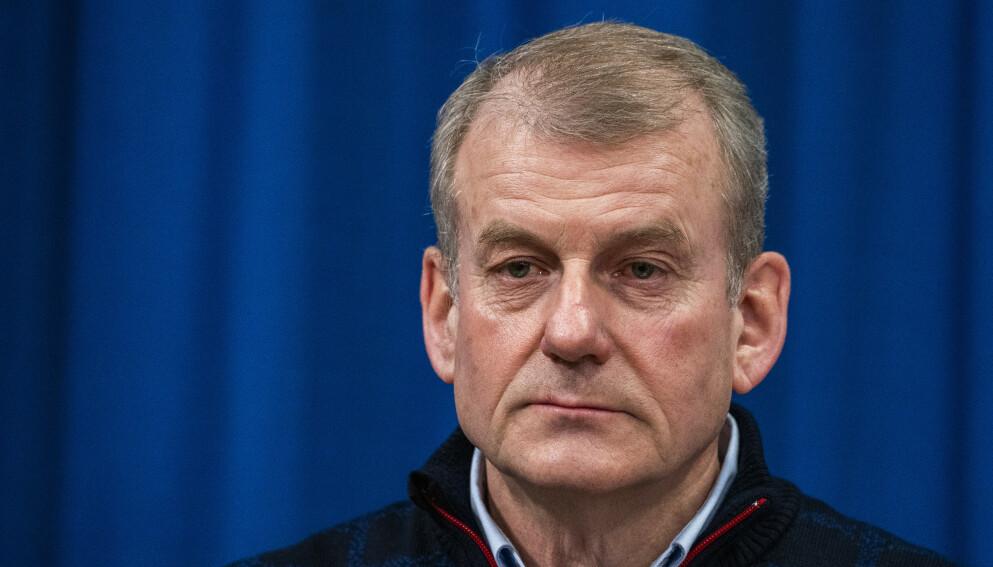 JA: Skipresident Erik Røste og resten av Norges Skiforbund sier ja til høydehus. Foto: Håkon Mosvold Larsen / NTB