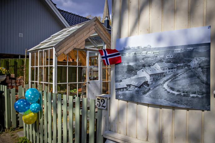 MÅ VIKE: Trehusbebyggelsen på hylla må vike for nye togspor. Foto: Bjørn Langsem / Dagbladet