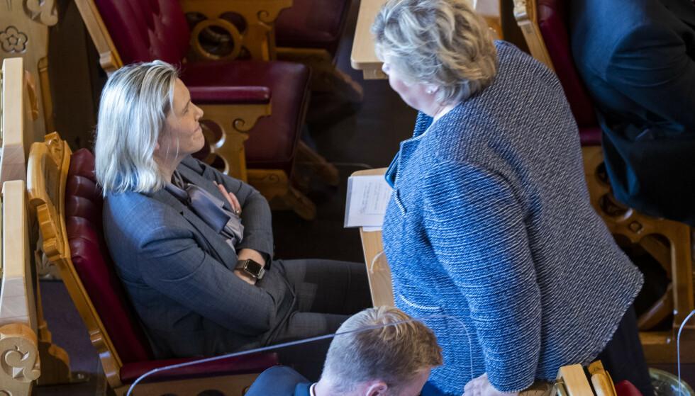MÅ STÅLSETTE OSS: Med Erna Solberg ute av bildet, kan Sylvi Listhaug bli høyresidas mest markante politiker. Jeg tror vi må stålsette oss for å møte et mer radikalisert Frp enn det vi har sett under Siv Jensen, skriver innsenderen. Foto: Terje Pedersen / NTB