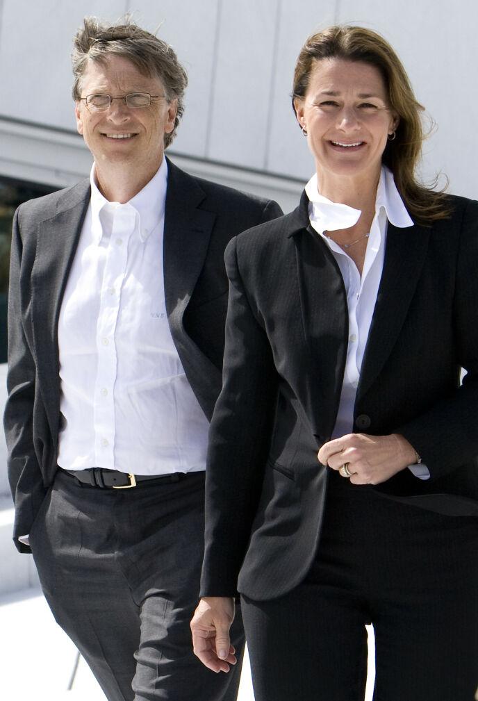 TILLATELSE: Bill Gates spurte eksen om tillatelse før han kunne gifte seg med Melinda. Her er paret på Operaen i Oslo i 2009. Foto: Heiko Junge / NTB