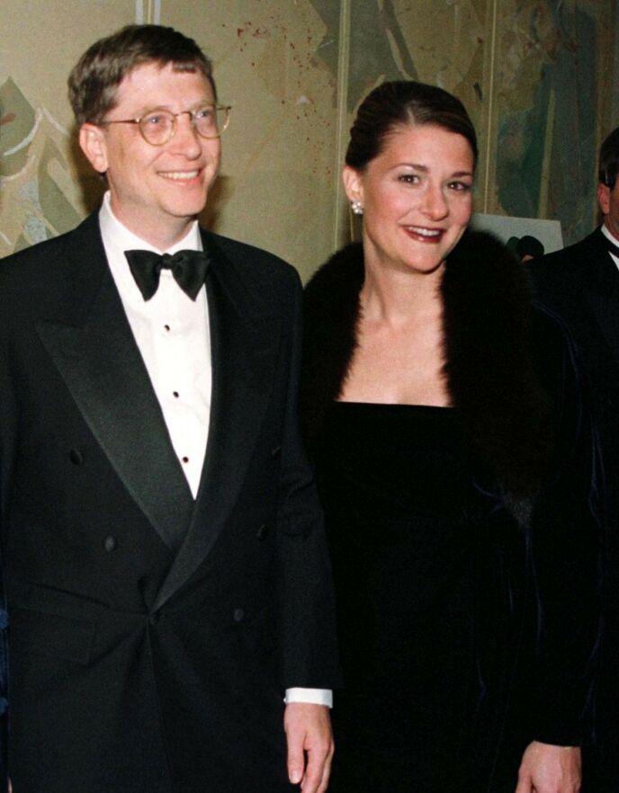IKKE SPONTAN: Det var på hengende håret at Bill fikk en date med Melinda. Hun mente nemlig at han ikke var spontan nok. Her avbildet i 1998. Foto: Jeff Christensen / Reuters / NTB