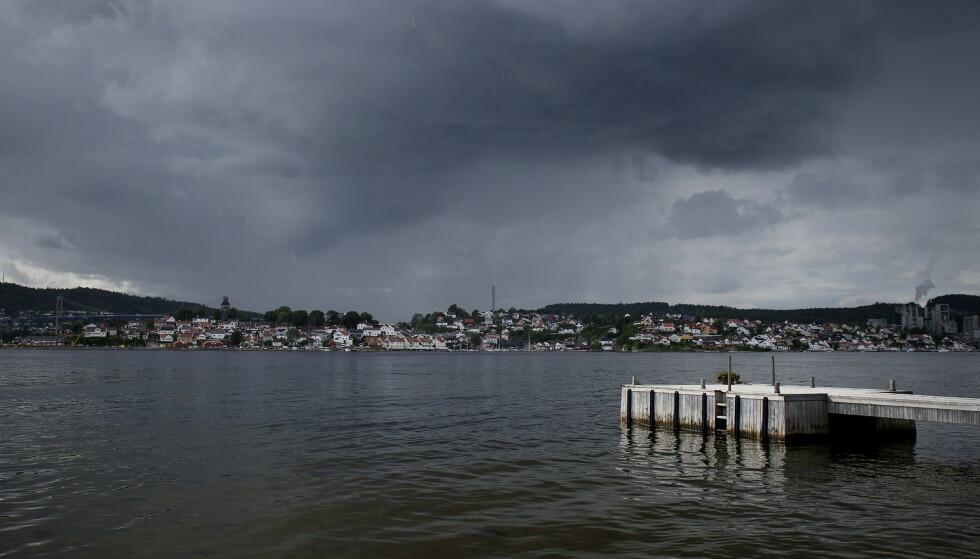 MYE SMITTE: Grenlandsområdet har hatt stor økning i antall smittede den siste tida. Her fra Brevik i Porsgrunn kommune. Foto: Øistein Norum Monsen / DAGBLADET
