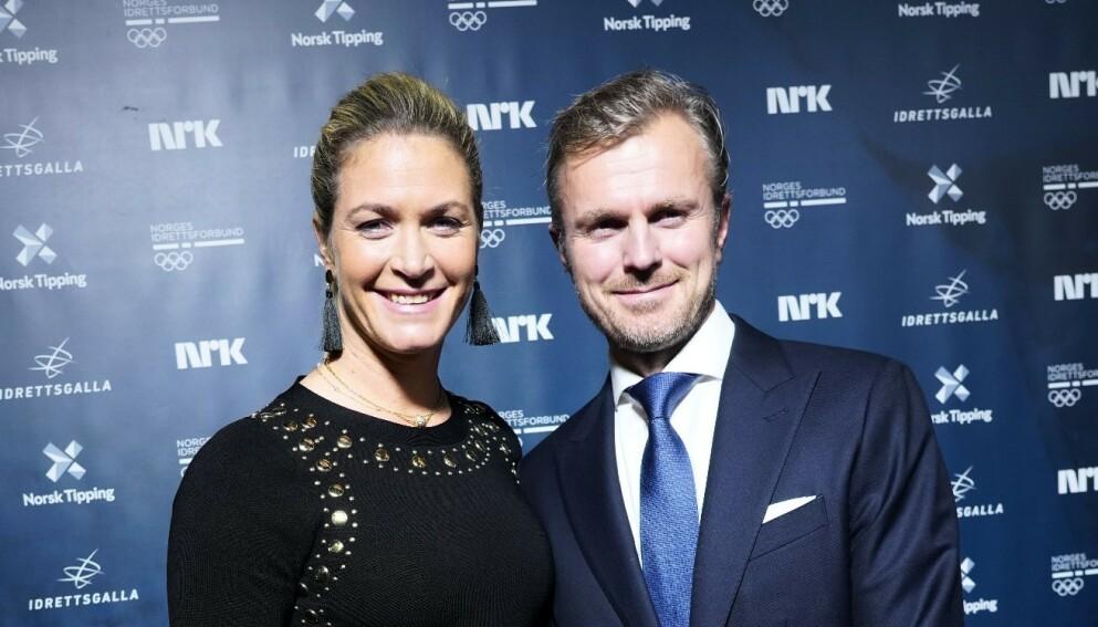 BABYLYKKE: Golfspiller Suzann Pettersen og ektemannen har blitt foreldre for andre gang. Foto: NTB