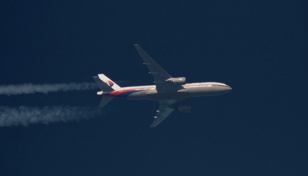 FORSVANT: Malaysian Airlines sitt fly, MH370, forsvant sporløst under en time etter at det tok av 8. mars 2014. Foto: Tomasz Bartkowiak / Reuters / NTB